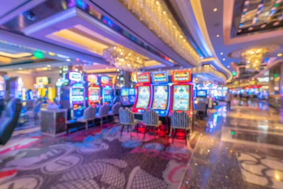 sweepstakes gaming machines